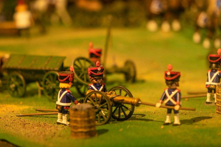 Exposition Playmobil au Musée Wellington